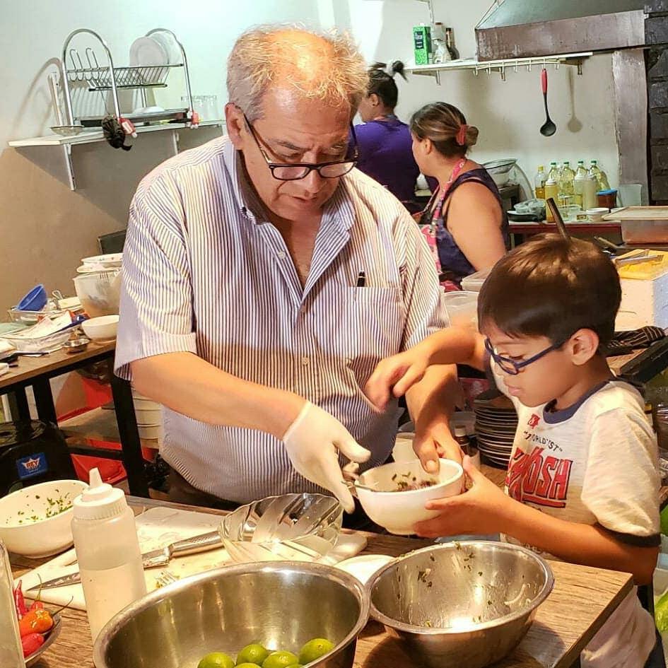 restaurantes y huariques en cuarentena