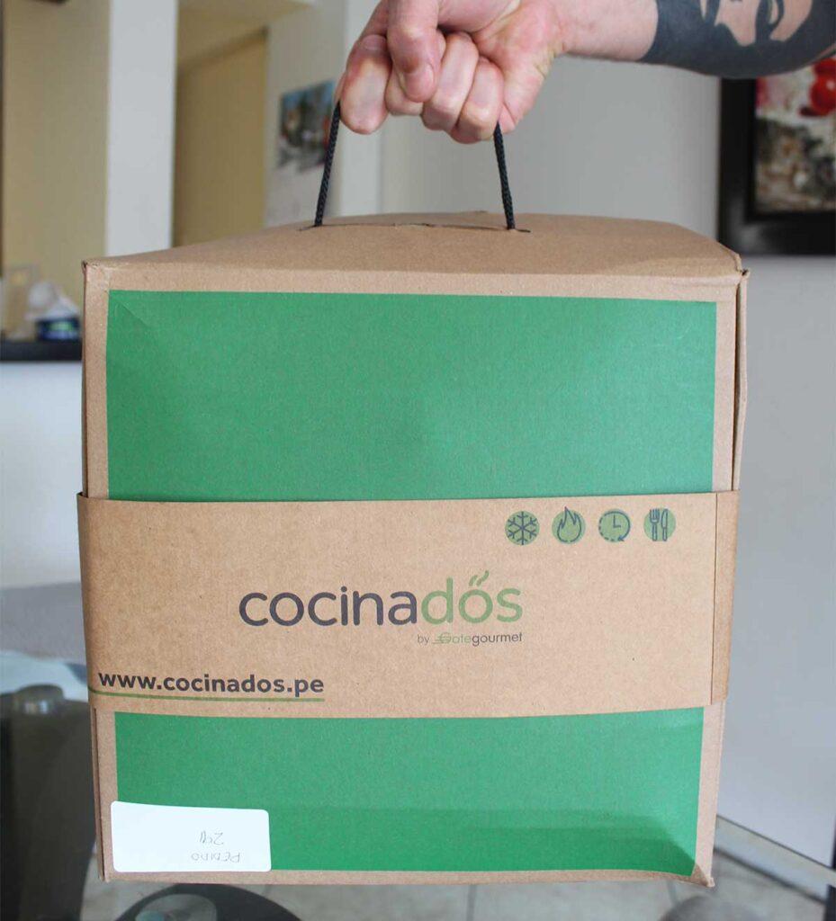 delivery de comida preparada